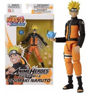 Boneco Naruto Shippuden Anime Heroes Uzumaki Naruto Bandai