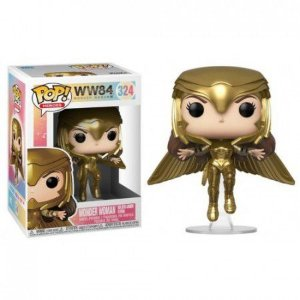 Funko Pop Heroes: WW84 - Wonder w. Golden arm. flying #324