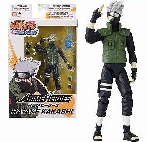 Boneco Naruto -  KAKASHI HATAKE ANIME HEROES - BANDAI