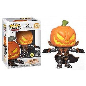 Funko Pop Games: Overwatch - Reaper (pumpkin) #520 *MKP