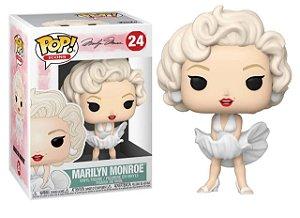 Funko Pop! Icons: Marilyn Monroe (White Dress) #24