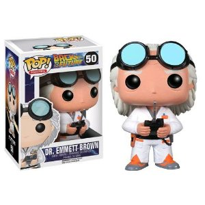Funko Pop! Movies: Back to the Future - Dr. Emmet Brown #50