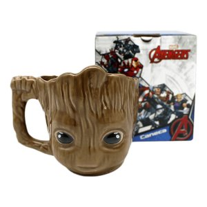 Baby Groot Caneca 3D