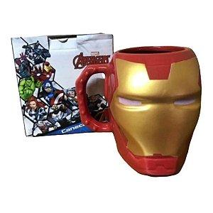 Homem de Ferro Caneca 3D