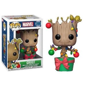 Funko POP! Marvel: Holliday Groot #399