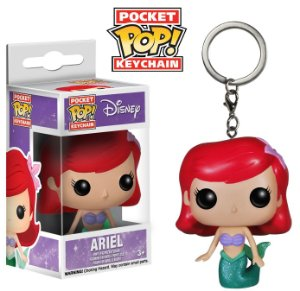 Pocket Pop Keychain: The Litlle Mermaid - Ariel