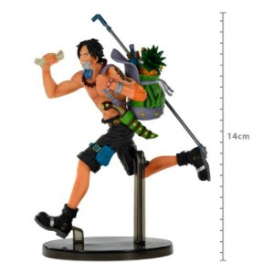 Action Figure: One Piece - Portgas D.Ace Three Brothers One Piece Banpresto