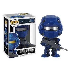 Funko POP!: Halo 4 - Spartan Warrior Blue #05