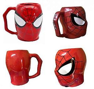 Homem Aranha Caneca 3D