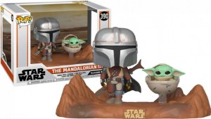 Funko Pop: Star Wars - The Mandalorian With The Child #390