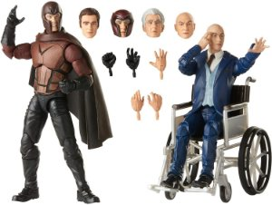 Hasbro Marvel Legends Series X-Men Magneto e Professor