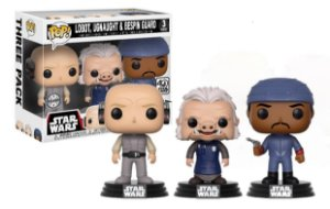 Funko Pop!: Star Wars - Lobot, Ugnaught & Bespin Guard