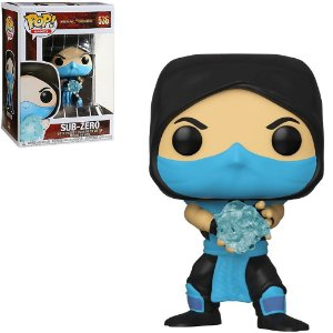 Funko Pop Games: Mortal Kombat - Sub-Zero #536