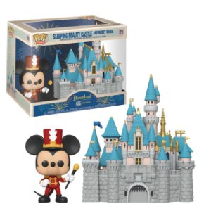 Funko Pop Rides: Sleeping Beauty Castle And Mickey Mouse #21