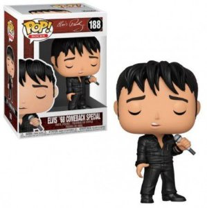 Funko Pop Rocks: Elvis '68 Comeback Special #188