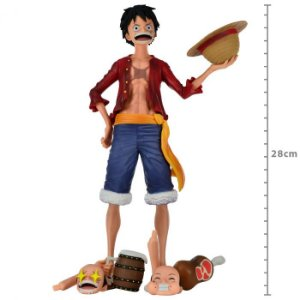 Action Figure: FIGURE ONE PIECE GRANDISTA NERO MONKEY D LUFFY