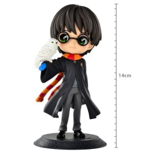 ACTION FIGURE: FIGURE HARRY POTTER - HARRY POTTER - WITH HEDWIG Q POSKET