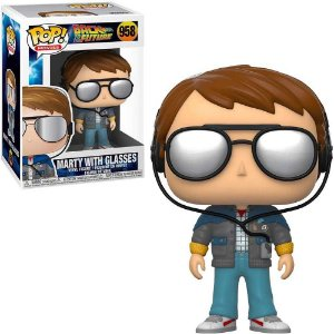 Funko Pop Movies: Back To The Future - Marty With Glasses #958