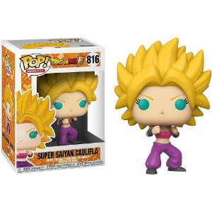 Funko Pop Animation: Dragon Ball Super - Super Saiyan Caulifla #816