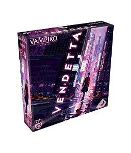 Board Game: Vampiro Vendetta - Galápagos Jogos