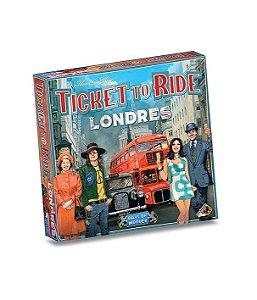 Board Game: Ticket To Ride Londres - Galápagos Jogos