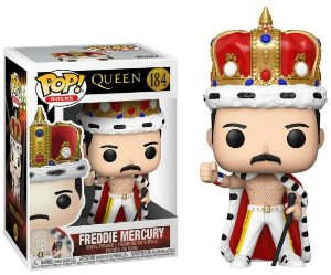 Funko Pop Rocks: Queen - Freddie Mercury #184