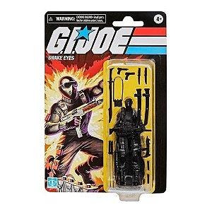 Action Figure: Snake Eyes G.I.JOE Retro - Hasbro