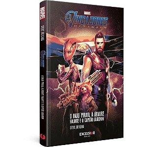 Livro - Vingadores Ultimato: Anjo pirata, a arvore falante e o capitão guaxinim