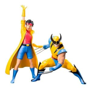 Action Figure: Wolverine E Jubilee X-men 92: Two Pack Artfx+ - Kotobukiya