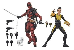 Deadpool e Negasonic Teenage Warhead Marvel Legends Series