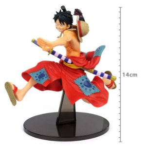 Action Figure: FIGURE ONE PIECE - MONKEY D LUFFY - BATTLE RECORD COLLECTION