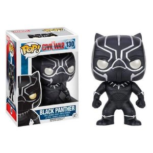 Funko Pop: Captain America Civil War - Black Panther #130