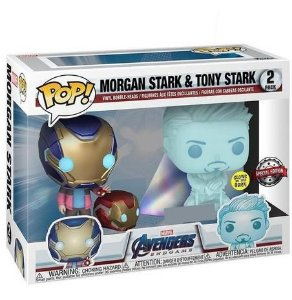 Funko Pop!: Avengers EndGame - Morgan Stark & Tony Stark 2Pack