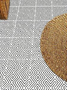 Adesivo para piso labirinto