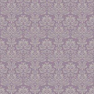 Papel de parede arabesco roxo