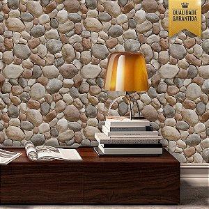 Papel de parede pedras redondas