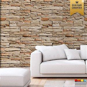 Papel de parede pedras canjiquinha