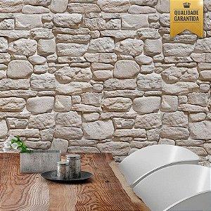 Papel de parede pedras rústicas