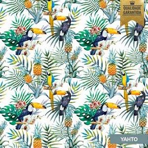 Papel de parede tropical aves