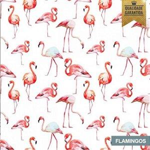 Papel de parede flamingos