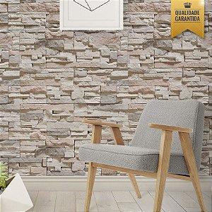 Papel de parede pedras filetadas