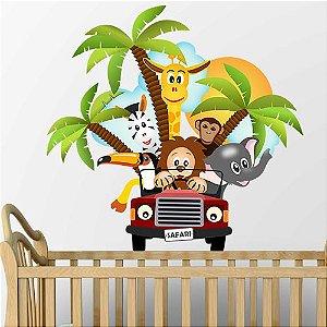 Adesivo quarto infantil Safari