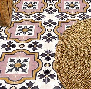 Adesivo para piso estilo colonial