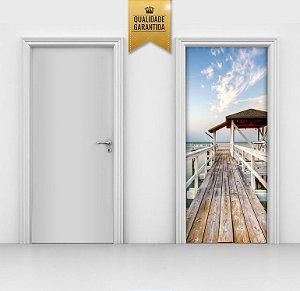 Adesivo de porta Pier deck