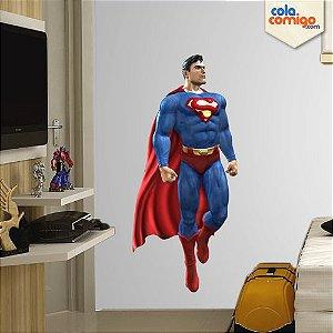 Adesivo de Parede Super Homem