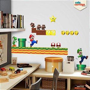Adesivo de parede Super Mario