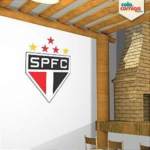 Adesivo escudo do São Paulo FC