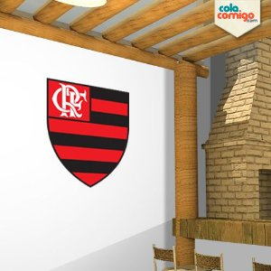 Adesivo Escudo Flamengo