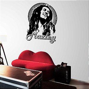 Adesivo de Parede Bob Marley