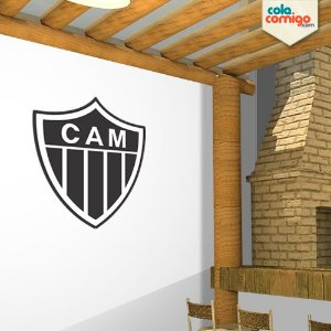 Adesivo escudo do Atlético Mineiro